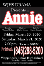 "Drama Production - ""Annie"" (Postponed)"