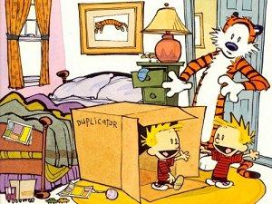 Calvin and Hobbs Duplicator