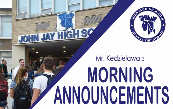 click here to go to JJ Daily Announcements