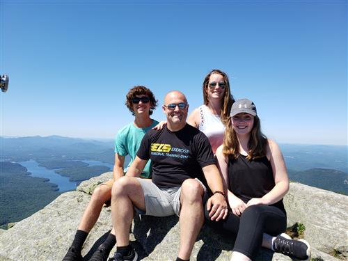 The Team atop Whiteface Mountain