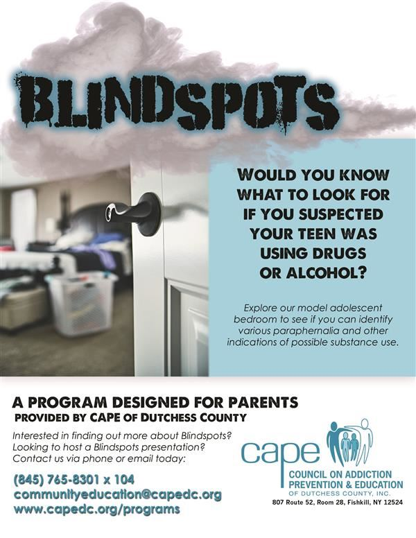 Blindspots Flyer