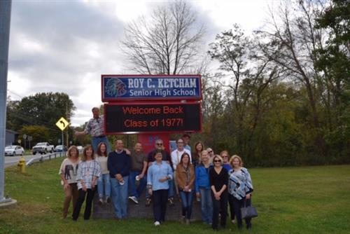 Welcome Back RCK Class of 1977!