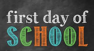 First Day of School - Thursday, September 5th.  Click here to read Mr. Seipp's Welcome Back Letter