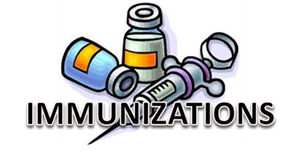 Immunizations - Important Information!  You need to be up-to-date with immunizations to participate in school - even online school. It's more important now than ever, and it's the law. Click here for more details.