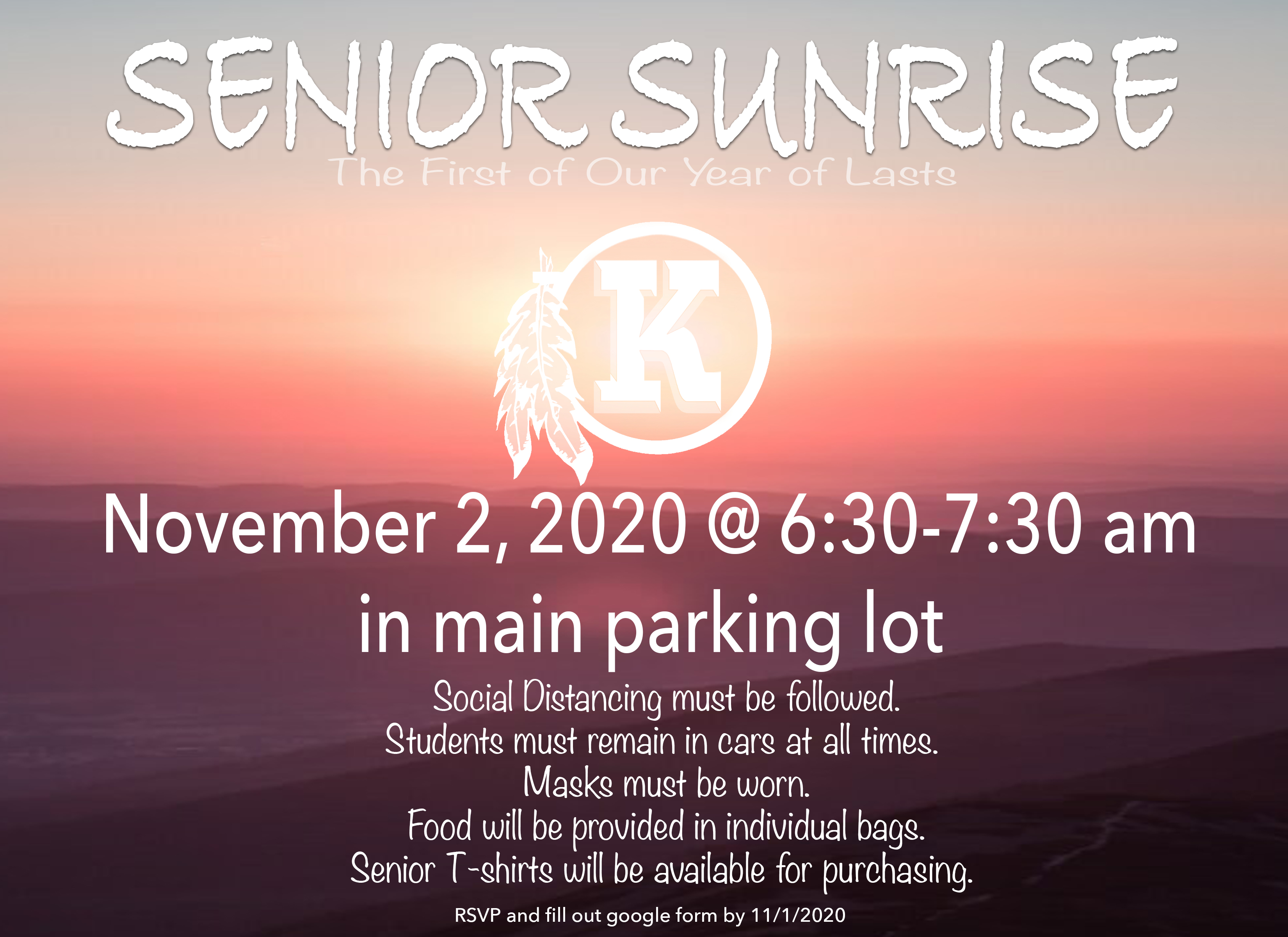 Senior Sunrise Flyer