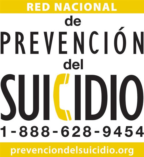 de Prevencion de Suicidio