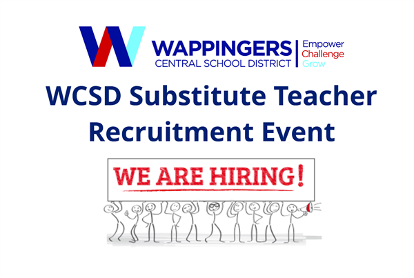 WCSD Substitute Teacher Recruitment Event