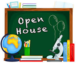 OPEN HOUSE was held on Thursday, October 3, 2019.  Click here to view a copy of the handout for the evening.