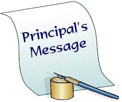 "Principal's Messages - please click above on ""Principal's News"" for updates from Principal Seipp."