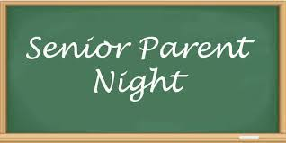Senior Class Info Night for Parents was held on Thursday, September 19th. Click here for the Senior Class Newsletter!