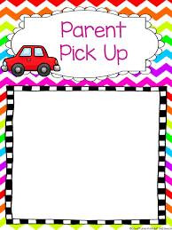 Fishkill Elementary Parent Pick-up Notes