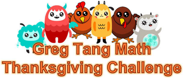 Thanksgiving Math Challenge
