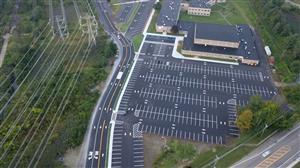 john jay parking lot