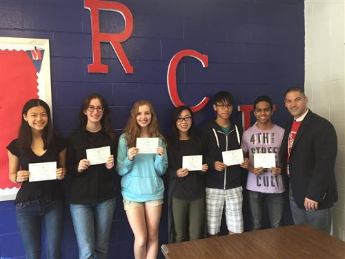 Commended Students from RCK