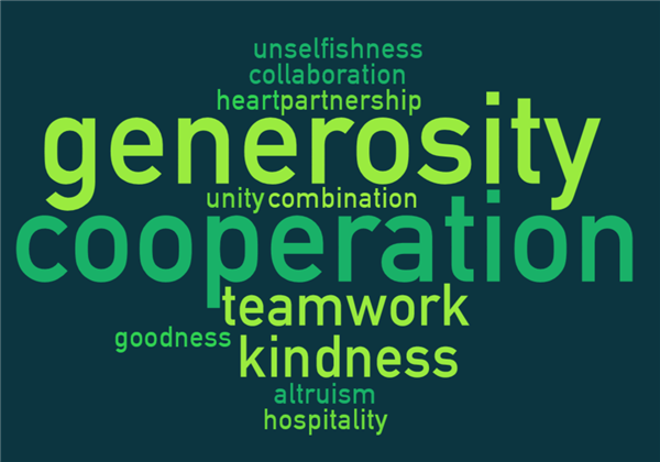 PBIS Monthly Character Trait: COOPERATION & GENEROSITY