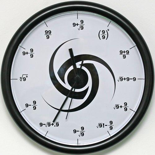 The 9's clock!