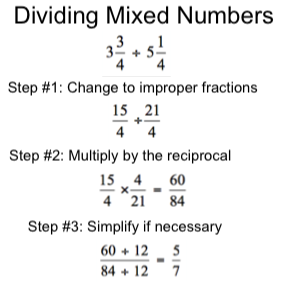 Dividing mixed numbers worksheet answers